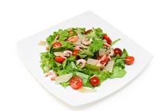 Mix salad. Isolated on a white background Stock Image