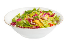 Mix salad corn chips Royalty Free Stock Image