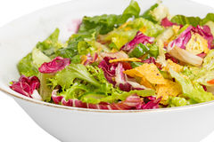 Mix salad corn chips Royalty Free Stock Images