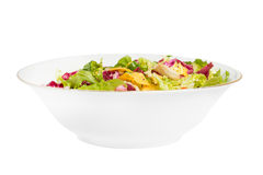 Mix salad corn chips Stock Photo