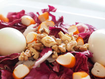 Mix salad. With eggs Royalty Free Stock Photography