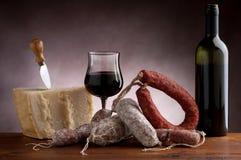 Mix of salami Stock Image