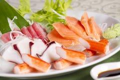 Mix sashimi Stock Image