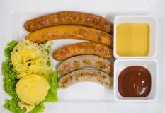 Mix sausage Royalty Free Stock Images