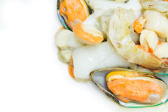 Mix seafood Stock Photography