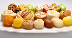 Mix Special Sweets Royalty Free Stock Photography