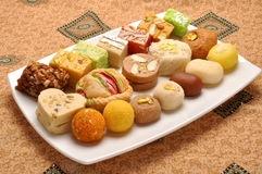 Mix Special Sweets Royalty Free Stock Photo