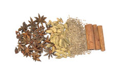 Mix of spice Royalty Free Stock Photography