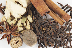 Mix of spices. Royalty Free Stock Photo