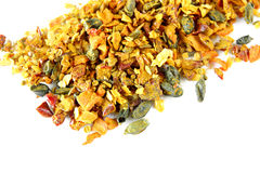 Mix of spices isolated Royalty Free Stock Image