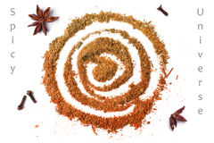 Mix of spices Royalty Free Stock Photography
