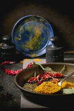 Mix of spices Stock Images
