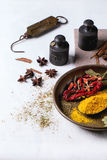 Mix of spices Stock Photos