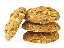 Mix stack cookies Stock Images
