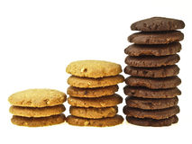 Mix step cookie Royalty Free Stock Photos
