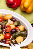 Mix Of Stewed Vegetables Royalty Free Stock Photography