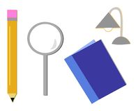 Mix of Study Tools Stock Images