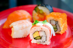 Mix sushi Stock Photos