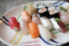 Mix sushi Stock Photo