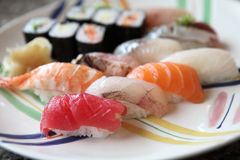 Mix sushi Stock Photography