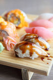 Mix sushi Stock Images