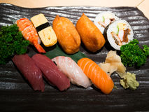 Mix sushi Royalty Free Stock Photo