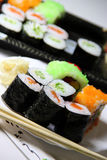 Mix of sushi specialties Royalty Free Stock Image