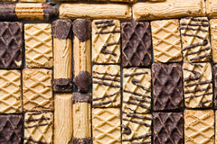 Mix of sweet cookies Royalty Free Stock Photography