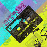 Mix tape cd cover Royalty Free Stock Photography