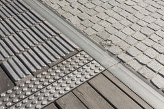 Mix texture pavement street background stock photography