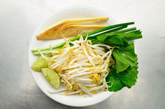 Mix of Thai Vegetable Stock Images