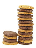Mix tower cookie Stock Photography