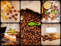 Coffee theme set Stock Image