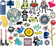 Mix of vector images. vol.10 Stock Photo
