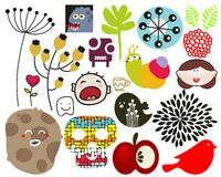 Mix of vector images. vol.70 Stock Photo