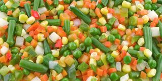 Mix Vegetable Royalty Free Stock Photo