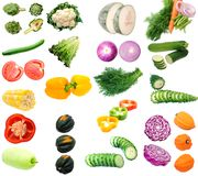 Mix vegetable Royalty Free Stock Images
