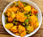 Mix vegetable Curry Royalty Free Stock Images