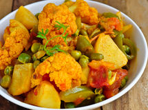 Mix vegetable Curry Stock Photography