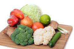 Mix of vegetable Royalty Free Stock Photos