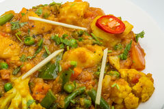 Mix vegetable masala Royalty Free Stock Photo