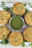 Mix Vegetable Pakora is a popular Indian snack Royalty Free Stock Photo