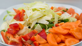 Mix vegetable ready to cook. Mix vegetable choped ready to cook Royalty Free Stock Image