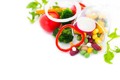 Mix Vegetable salad Stock Photos