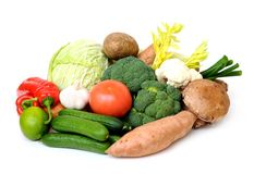 Mix  vegetable Royalty Free Stock Photos