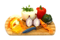 Mix of vegetables Stock Image