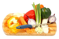 Mix of vegetables Stock Images