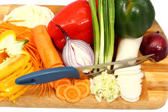 Mix of vegetables Royalty Free Stock Photography