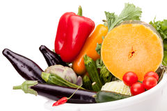 Mix Of Vegetables royalty free stock photo