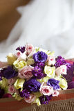 Mix of wedding flowers Stock Image